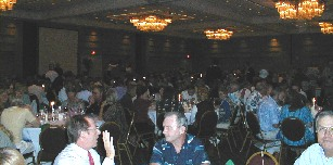 The dining room at large - probably over 600 attendees
